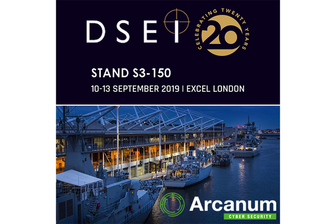 Arcanum Exhibit at DSEI 2019