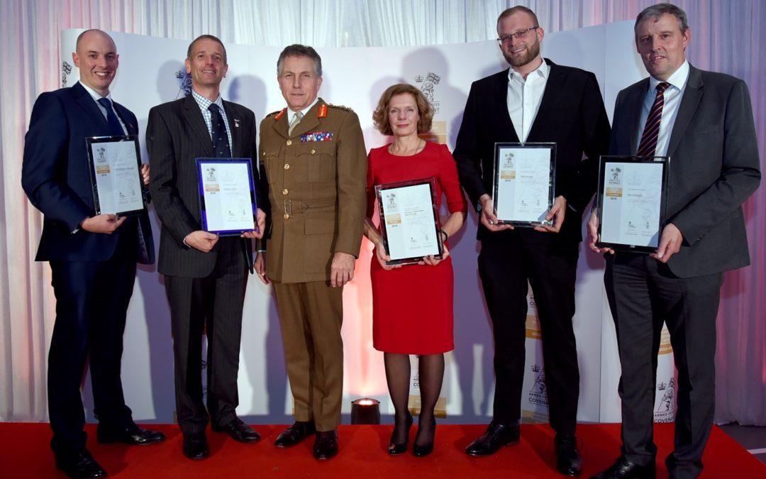 Arcanum Receives Employer Recognition Scheme Gold Award
