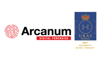 Arcanum Granted Extension to UKAS ISO 17025 Accreditation