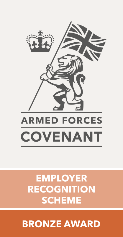 armed forces covenant ERS bronze award