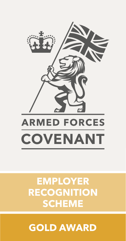 armed forces covenant ERS gold award