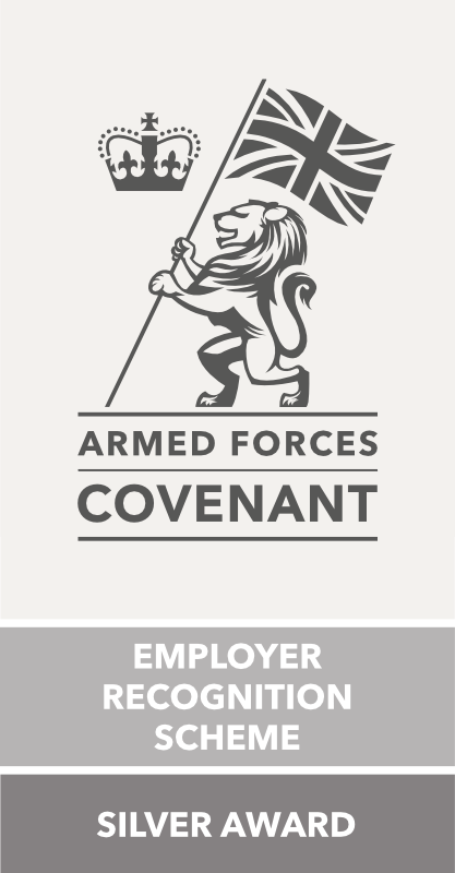 armed forces covenant ERS silver award