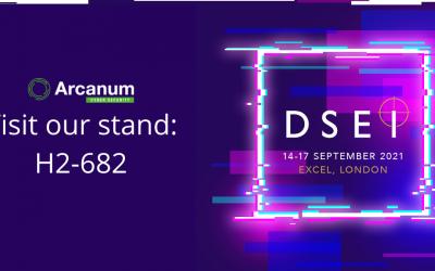 Arcanum will be exhibiting at DSEI 2021